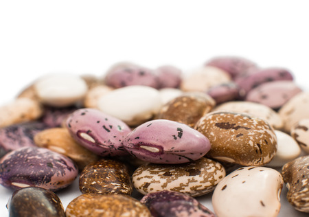 Beans isolated on a white background photo