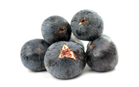 shoppe: fresh figs isolated on white background Stock Photo