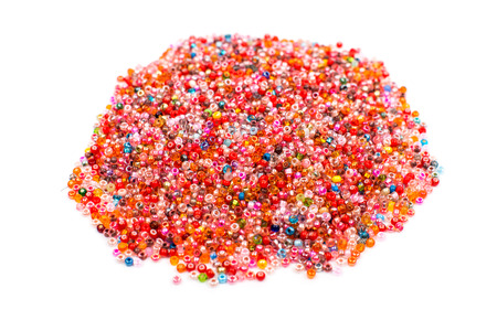 colorful beads: colorful beads Stock Photo