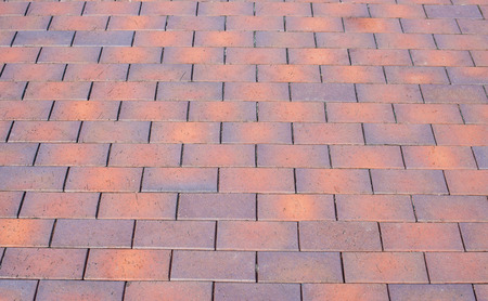 paving: colored paving slabs Stock Photo