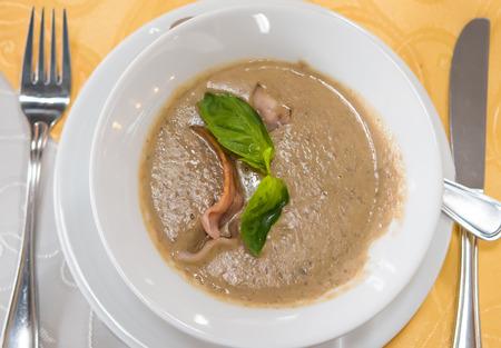 lenteja: Sopa de crema con lenteja verde