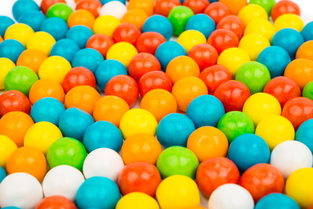 gummy: gummy ball candies for background uses Stock Photo