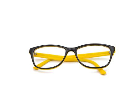 wayfarer: glasses on a white background