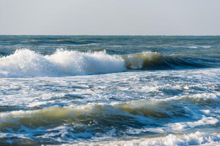 raging: landscape of raging sea