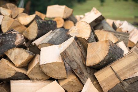 Firewood 写真素材