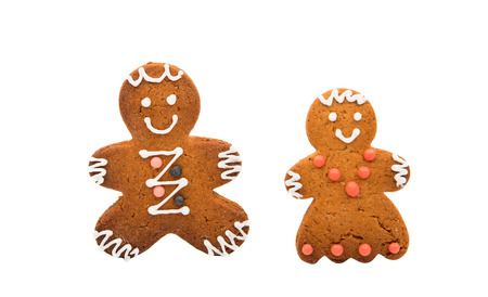 gingerbread man: gingerbread man on a white background
