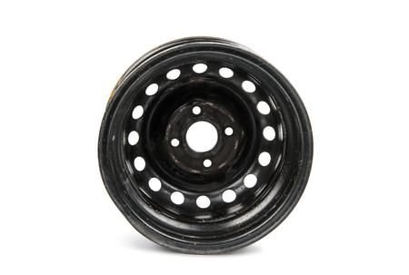 alloy wheel: car alloy wheel, isolated on white background.