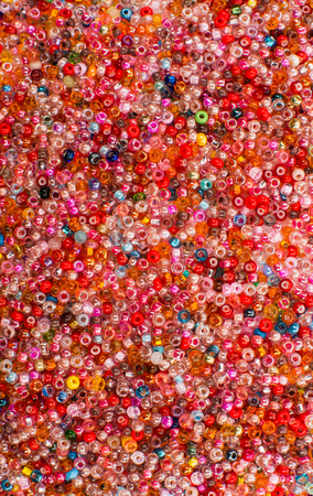 seed beads: Glass Seed Bead Background