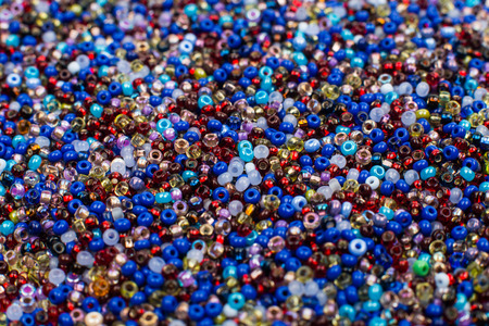 seed beads: Glass Seed Beads Background