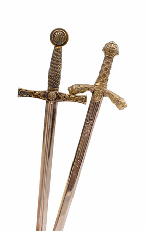 crusade: Sword on a white background