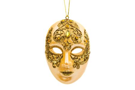 carnival: máscara de Carnaval aislado sobre fondo blanco Foto de archivo