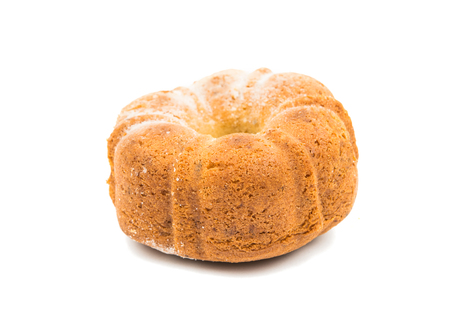 semana: biscuit donut on a white background Stock Photo