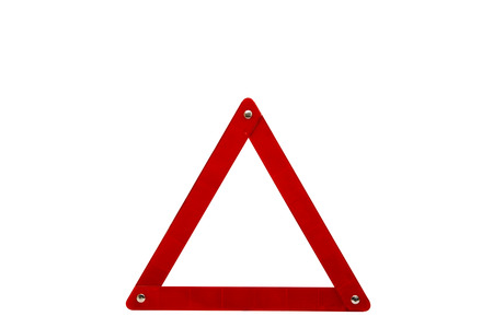 emphatic: emergency sign on a white background