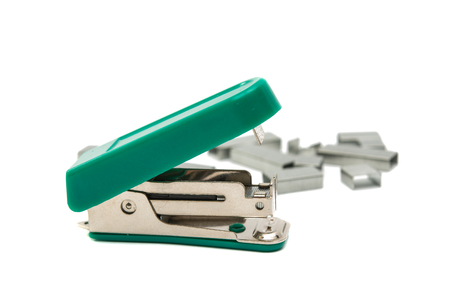 staplers: Staplers on Isolated White Background