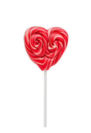 valentine          s day candy: candy heart isolated on white background