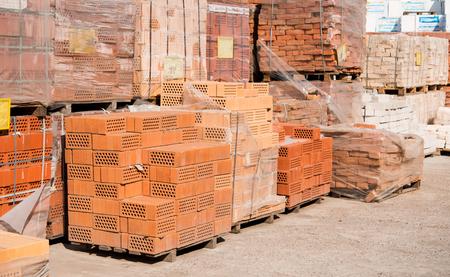 impianto per la produzione di materiale da costruzione con mattoni pronto, la costruzione foto industriali