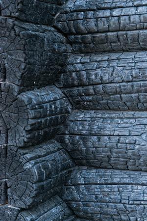 charred: background of charred wood