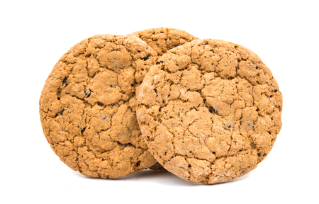 cookies on a white background Stock Photo