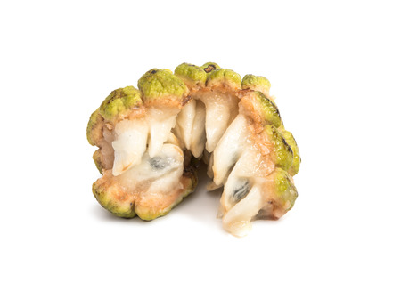 pomme: Fresh Custard Apple isolated on white background
