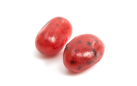 jelly beans: jelly beans on a white background