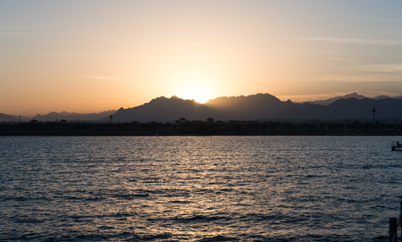 seascape of the Red Sea in Sharm El-Sheikh