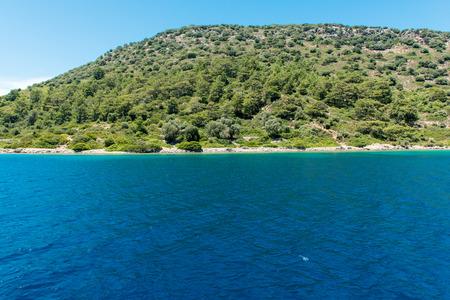 Landscape of the Aegean coast