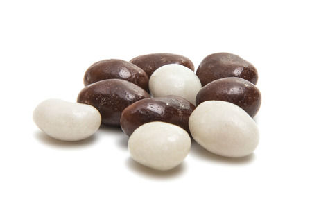 dragee candies isolated on a white background