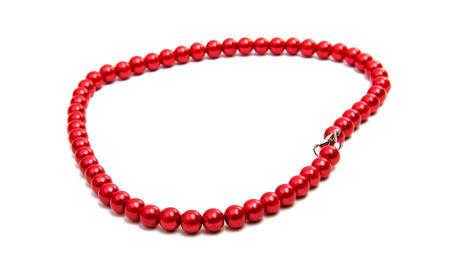 beads isolated on white background