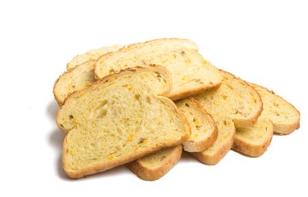 Dutch bread isolated on white background Standard-Bild