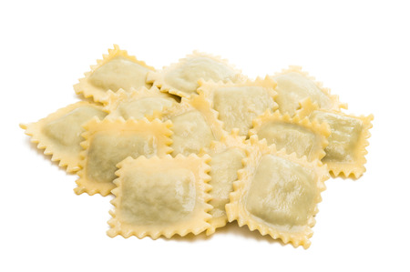 ravioli isolated on white background Stock fotó