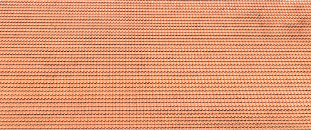 roof background with red tile