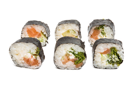 sushi isolated on white background Stock fotó