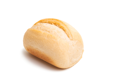 french buns isolated on white background