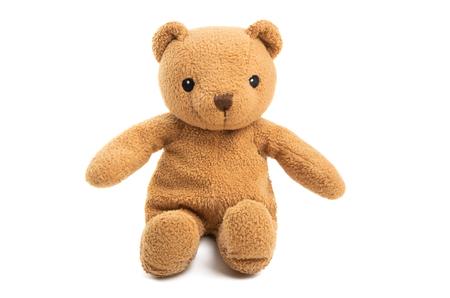 soft bear isolated on white background Reklamní fotografie