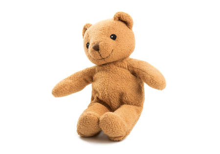 soft bear isolated on white background Foto de archivo