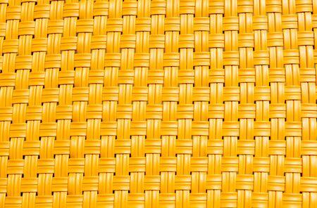 yellow wicker texture background Standard-Bild