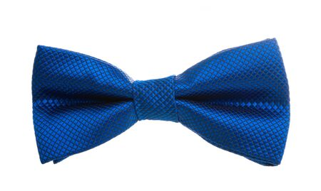 male bow tie isolated on white background
