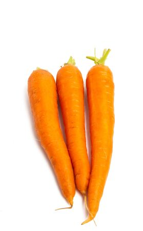 carrots isolated on white background Stock fotó