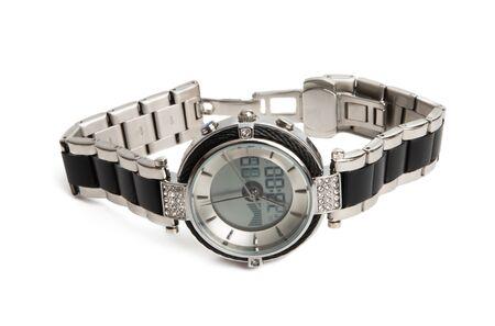 female wristwatch isolated on white background Stock Photo