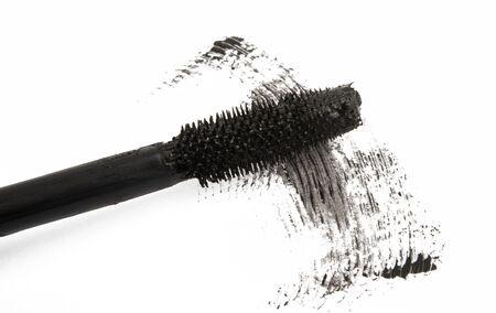black mascara isolated on white background