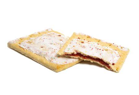 stuffed cookies isolated on white background 版權商用圖片