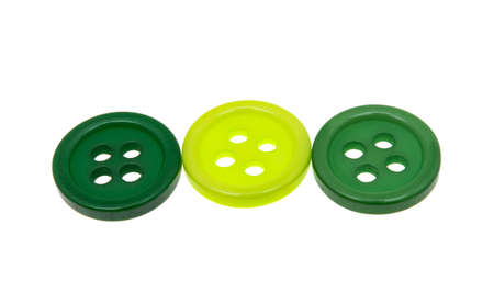 colored buttons isolated on white background