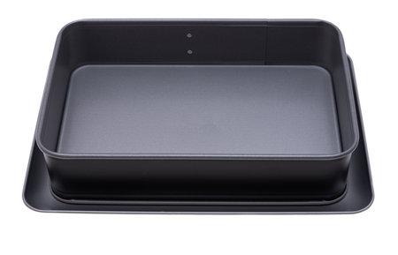 square baking dish isolated on white background Stockfoto - 168121330