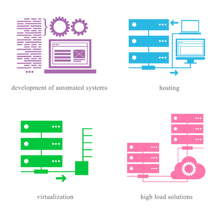 virtualization: Directions of the IT sphere as development, hosting, virtualization and high load solutions