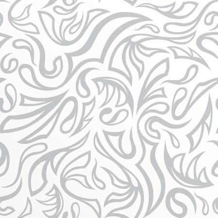 Seamless frost hand-drawn pattern