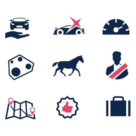 describe: Icons to describe the car parameters