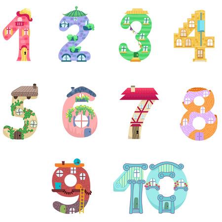 lodger: Numbers like fairy houses
