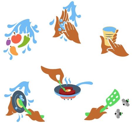 Principles of food hygiene set one