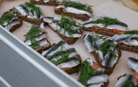 fish vendor: street food food fistival