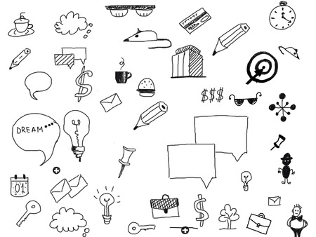 symbols: business symbols